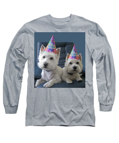 Long Sleeve T-Shirt featuring the photograph Let's Party by Geraldine Alexander