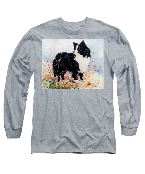 Let's Play Ball Long Sleeve T-Shirt by Hanne Lore Koehler