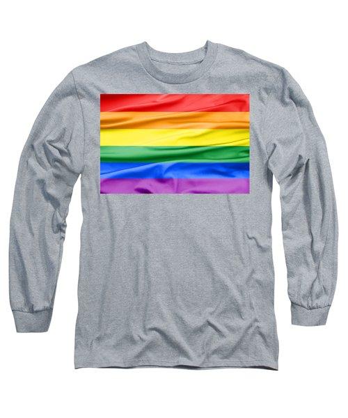 Lgbt Rainbow Flag Long Sleeve T-Shirt