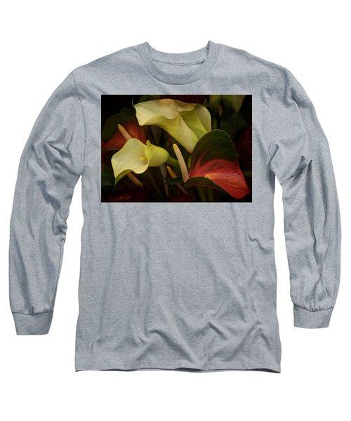 Long Sleeve T-Shirt featuring the photograph Li Ly Land by Richard Cummings