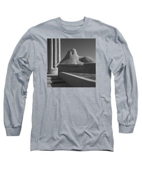 Liberty Memorial Kansas City Missouri Long Sleeve T-Shirt by Don Spenner