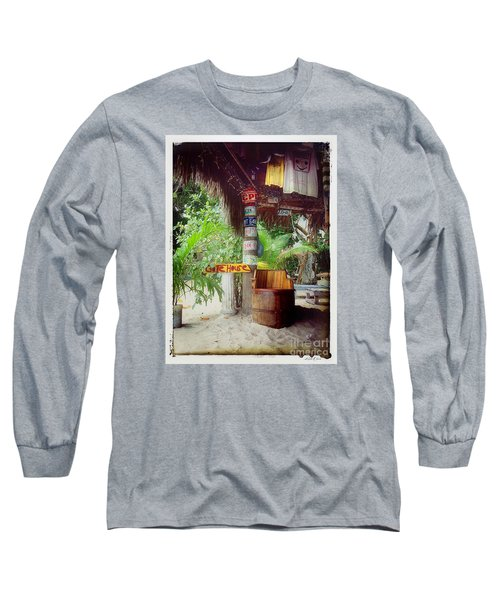 License To Drink Long Sleeve T-Shirt by Linda Olsen