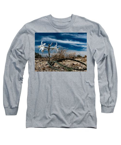 Long Sleeve T-Shirt featuring the photograph Life Amoung The Weeds by Jeremy McKay