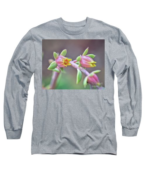 Long Sleeve T-Shirt featuring the photograph Life Delights In Life by Kerri Farley