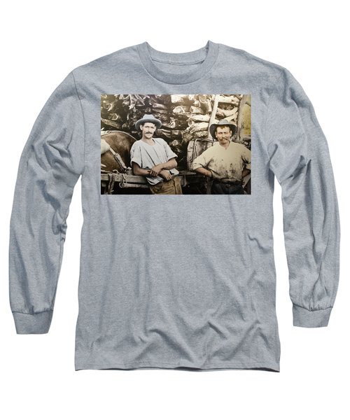 Long Sleeve T-Shirt featuring the photograph Life In Australia 1901 To 1914 by Miroslava Jurcik