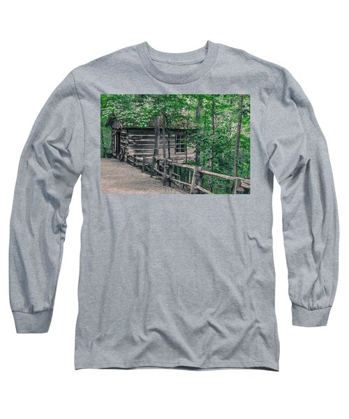 Long Sleeve T-Shirt featuring the photograph Life In The Ozarks by Annette Hugen