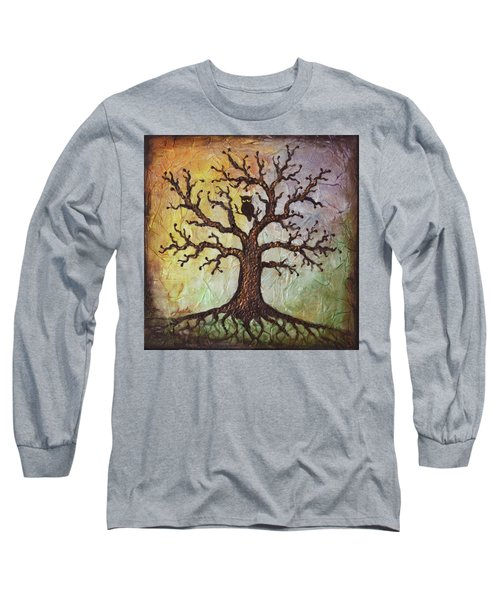 Life Of Wisdom Long Sleeve T-Shirt by Agata Lindquist