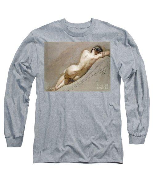 Life Study Of The Female Figure Long Sleeve T-Shirt