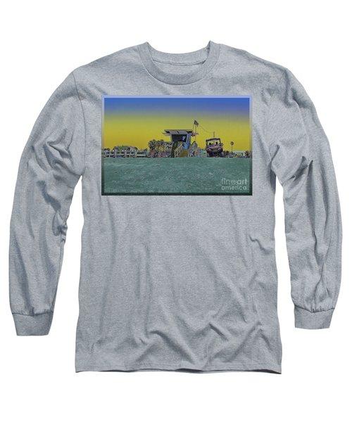 Lifeguard Tower 4 Long Sleeve T-Shirt