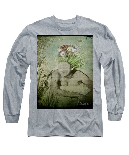 Long Sleeve T-Shirt featuring the digital art Life's A Beach by Delight Worthyn