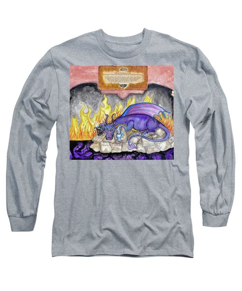 Life's Little Inferno Cafe Long Sleeve T-Shirt
