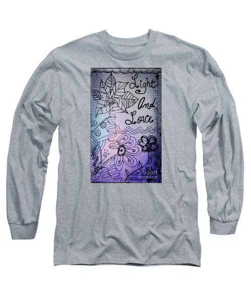 Light And Love Long Sleeve T-Shirt