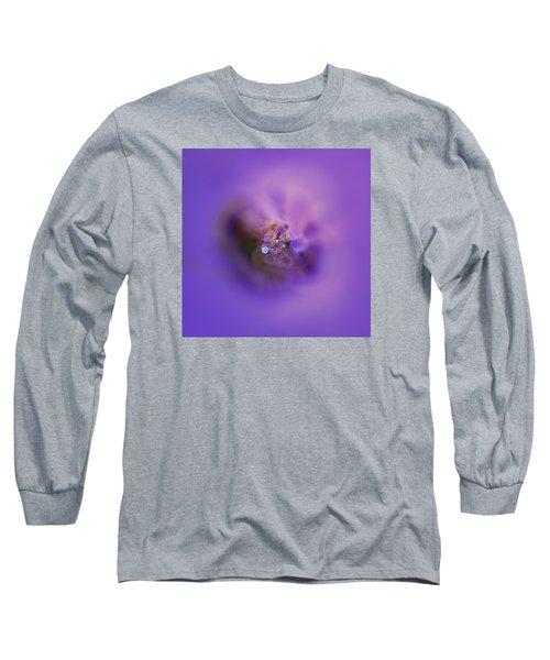 Long Sleeve T-Shirt featuring the digital art Light And Sound Abstract by Robert Thalmeier