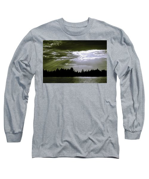 Light Blast In Evening Long Sleeve T-Shirt