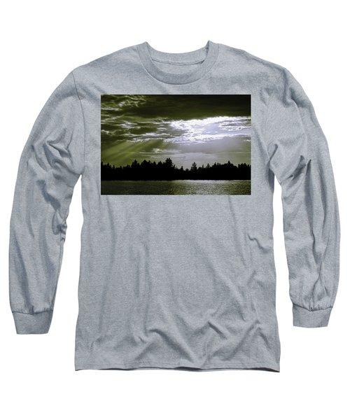 Light Blast In Evening Long Sleeve T-Shirt