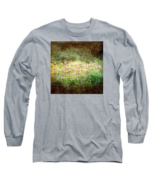 Light In The Forest Long Sleeve T-Shirt by Robin Regan