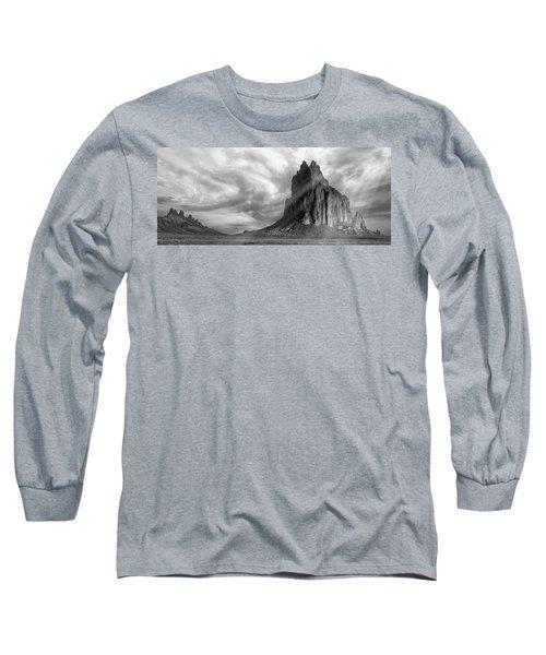 Light On Shiprock Long Sleeve T-Shirt by Jon Glaser