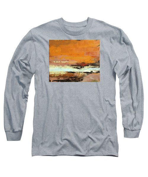 Light On The Horizon Long Sleeve T-Shirt by Nathan Rhoads