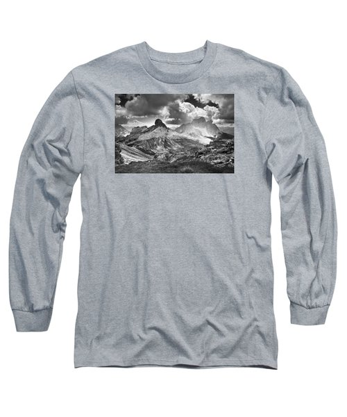 Light On The Valley Long Sleeve T-Shirt by Yuri Santin