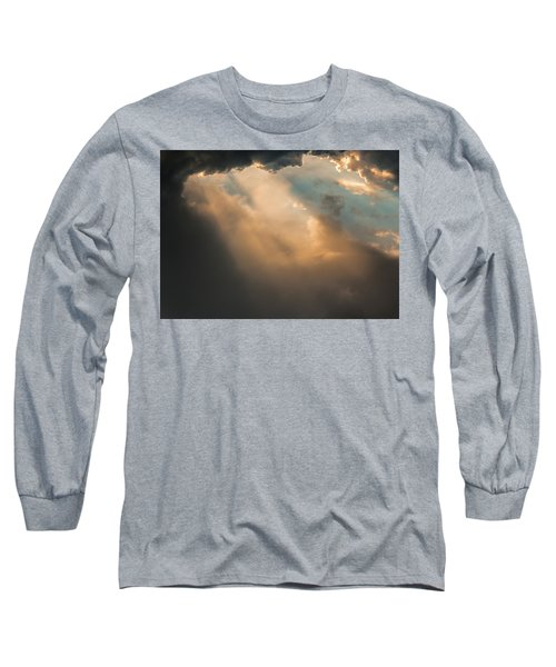 Light Punches Through Darkness Long Sleeve T-Shirt