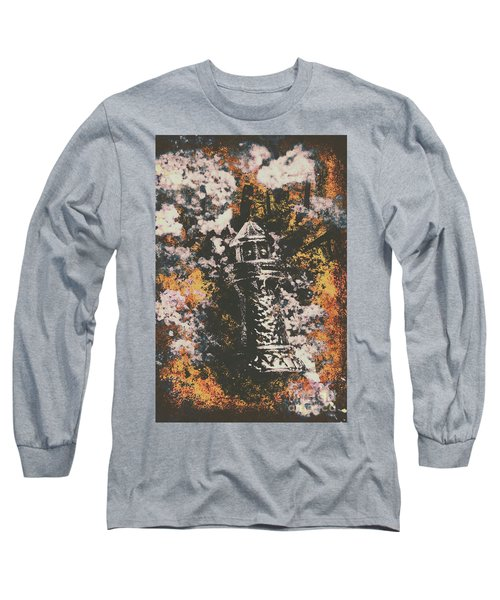 Lighthouse From Rust Harbour Long Sleeve T-Shirt