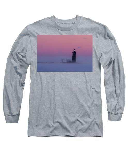 Lighthouse In The Clouds Long Sleeve T-Shirt