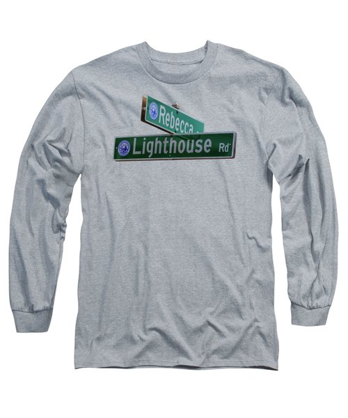 Lighthouse Road Long Sleeve T-Shirt by Brian MacLean