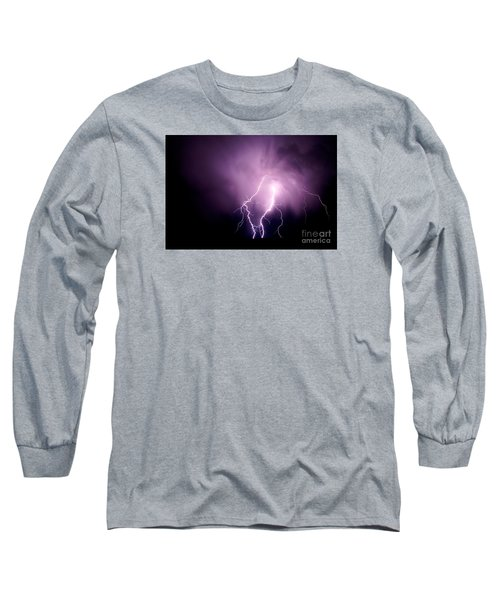 Lightning In The Desert Long Sleeve T-Shirt