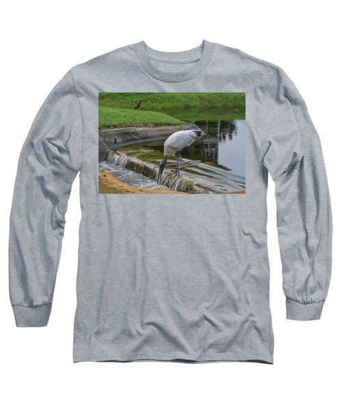 Like A Bear At A Salmon Run Long Sleeve T-Shirt