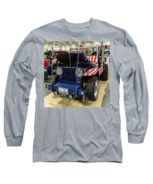 Long Sleeve T-Shirt featuring the photograph Lil Ugly by Randy Scherkenbach