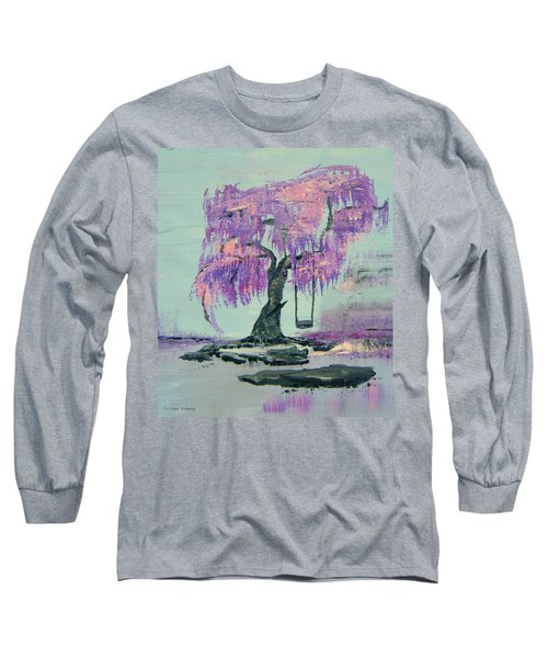 Lilac Dreams- Prince Long Sleeve T-Shirt