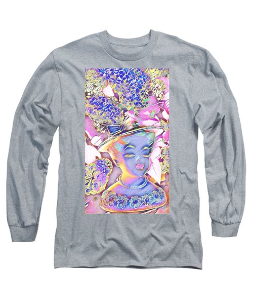 Long Sleeve T-Shirt featuring the photograph Lilac by Karen Newell