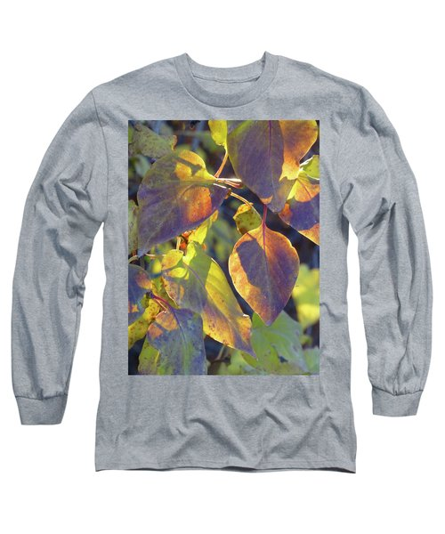 Lilac Leaves Long Sleeve T-Shirt
