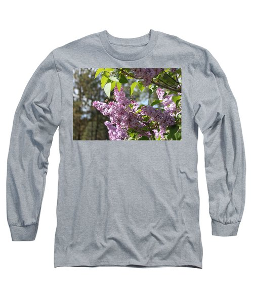 Long Sleeve T-Shirt featuring the photograph Lilacs 5545 by Antonio Romero