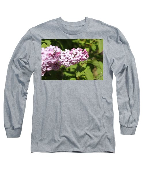 Long Sleeve T-Shirt featuring the photograph Lilacs 5550 by Antonio Romero