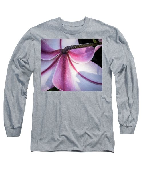 Long Sleeve T-Shirt featuring the photograph Lilies Backside by Jean Noren