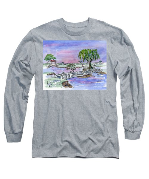 Liliuokalani Park Hilo Hawaii Long Sleeve T-Shirt