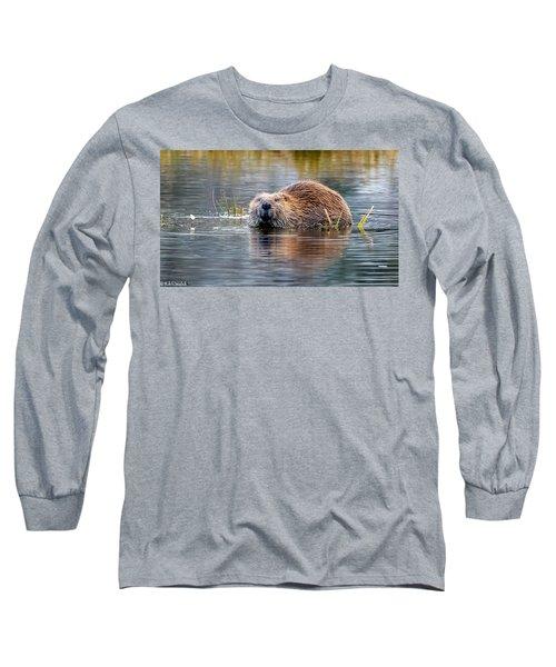 Lily Lake Beaver Long Sleeve T-Shirt