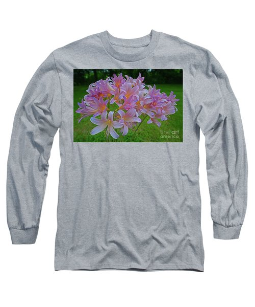 Lily Lavender Long Sleeve T-Shirt