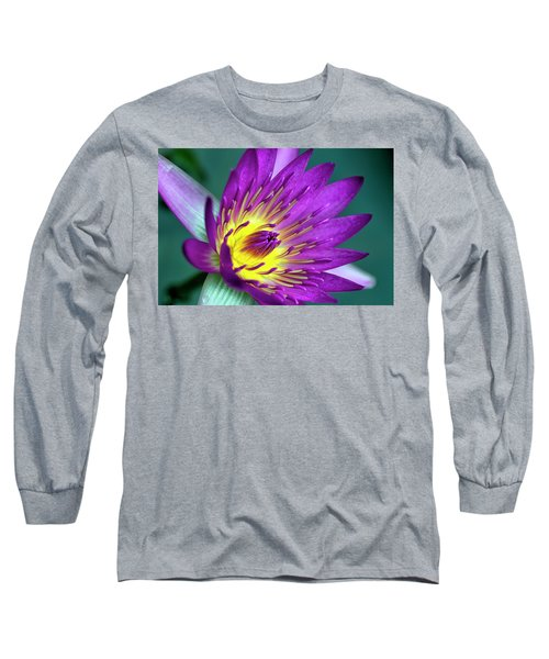Lily On The Water Long Sleeve T-Shirt