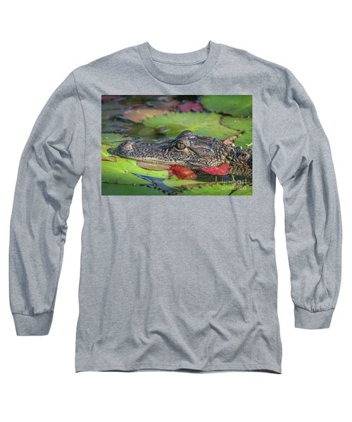 Lily Pad Gator Long Sleeve T-Shirt