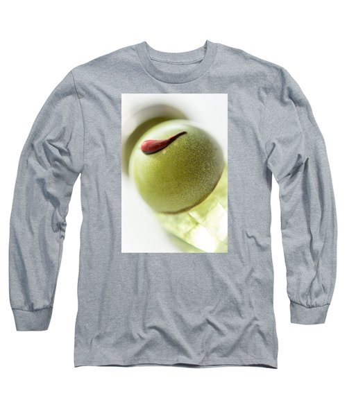 Long Sleeve T-Shirt featuring the photograph Lime And Chili by Sabine Edrissi