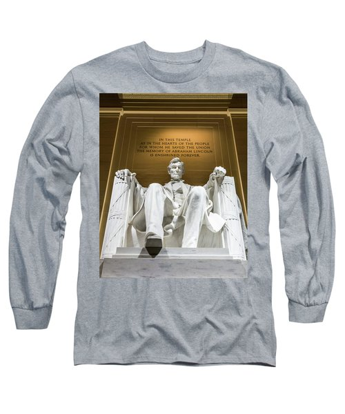Lincoln Memorial 2 Long Sleeve T-Shirt