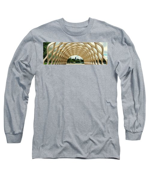 Lincoln Park Zoo Nature Boardwalk Panorama Long Sleeve T-Shirt