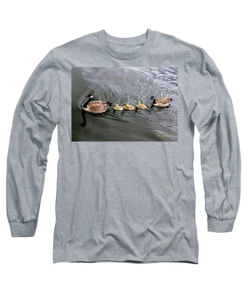 Line Astern Signed Long Sleeve T-Shirt