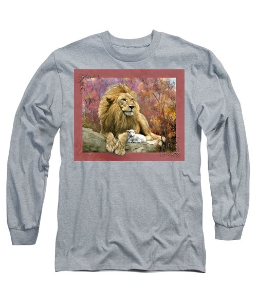 Lion And The Lamb Long Sleeve T-Shirt