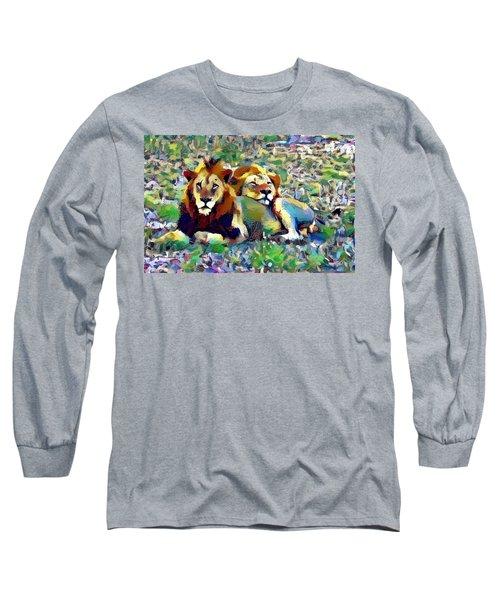 Lion Buddies Long Sleeve T-Shirt
