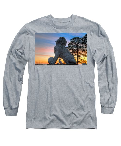 Lions Bridge At Sunset Long Sleeve T-Shirt