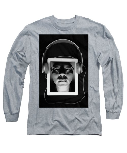 Listen To Inner Voice Long Sleeve T-Shirt by Hyuntae Kim