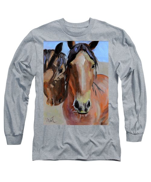 Litchfield Homies Long Sleeve T-Shirt by Pattie Wall
